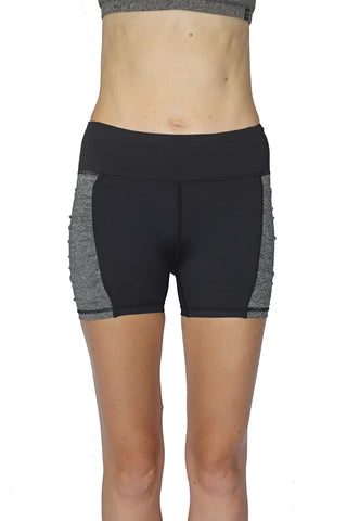 Pocket Short - Black and Gray 3 inch