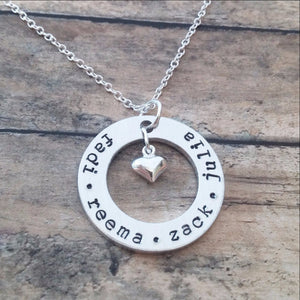 Personalized Necklace with Kids Names