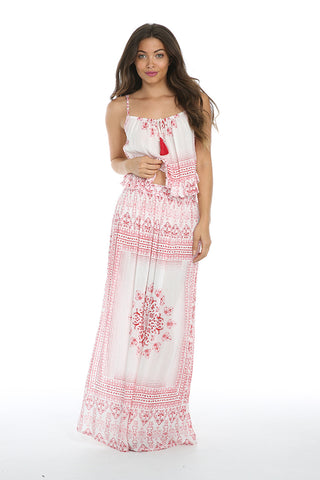 Image of MARIA MAXI SKIRT