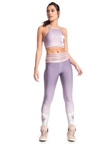 LILAC SUBLIMATED STREET SPORTS BRA