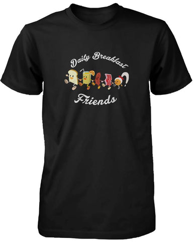 Image of Daily Breakfast Friends Bread, Orange Juice, Sausage, Bacon and Egg Women's Tee