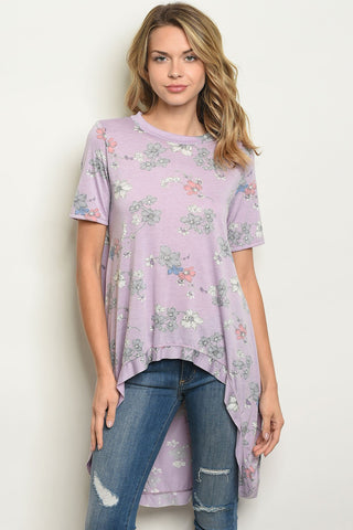 Image of Womens  Floral Top