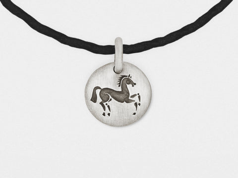 Image of Horse Charm Bracelet in Sterling Silver