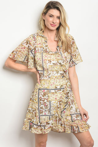 Image of Womens Floral Dress