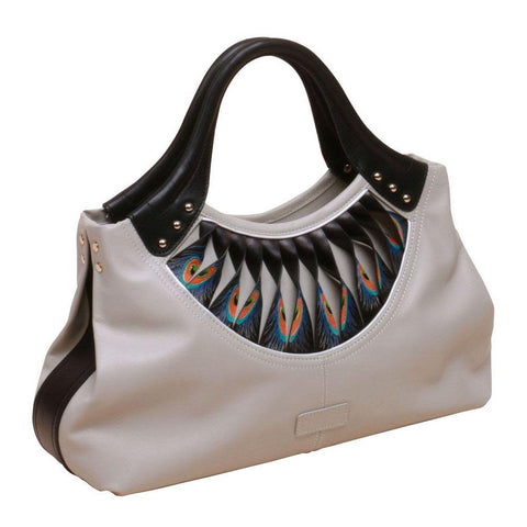 Image of Feather White Tote