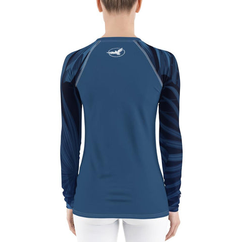 Women's Palm Sleeve Performance Rash Guard UPF 40+