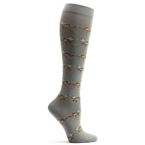 Image of Mirrored Mosquito Knee High Sock