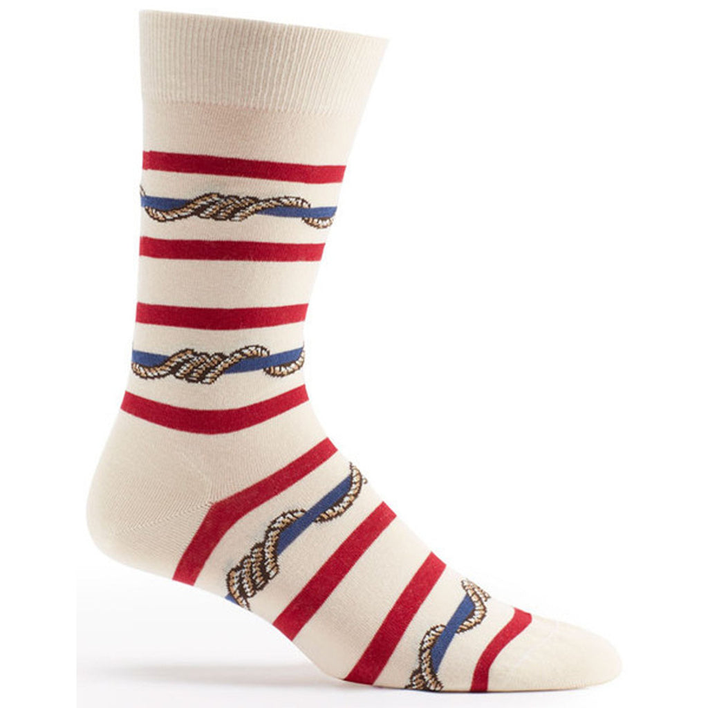 Wrap Around Stripes Sock