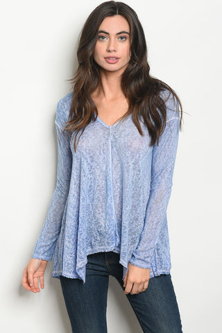 Womens Blue Top