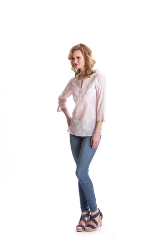 Image of Erica Paisley Top - Rose