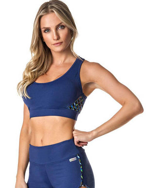 SPORTS BRA 181 WORKOUT NAVY BLUE