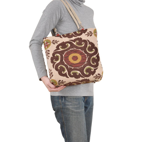 Image of Marakesh Blue Small Tote
