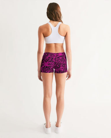 Women's Active Comfort Palm Caye Mid-Rise Yoga Shorts
