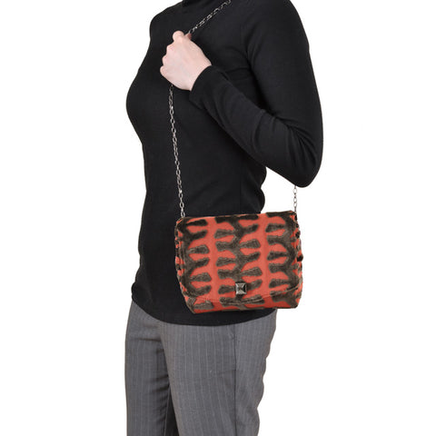 Image of Totem Coral square clutch