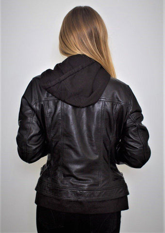 Image of Annalise Womens Leather Jacket