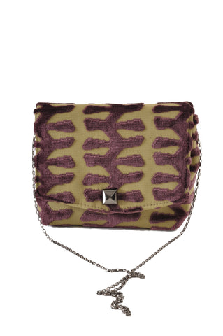 Image of Totem Green square clutch