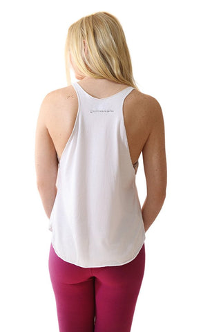 Image of OM Yoga Teja Racer Back Tank