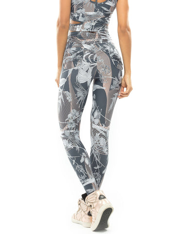 Fact Fuso Floral Printed Leggings