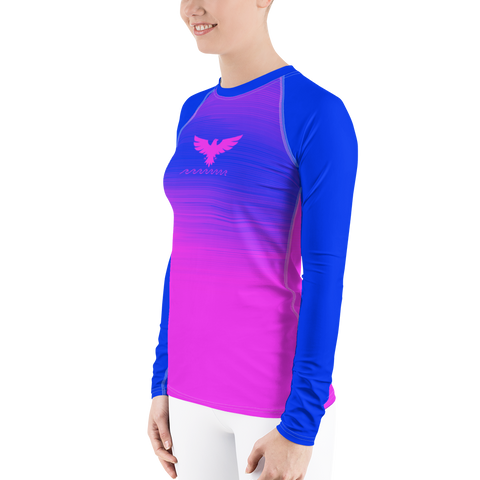 Image of Women's Summer Eclipse Long Sleeve All Weather UPF 50 Rash Guard
