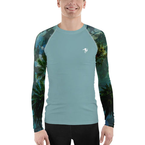 Image of Men's Find Your Coast O.U.R. Outdoors Performance Rash Guard UPF 40