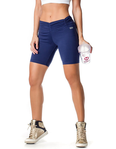 Image of BERMUDA SHORTS 35 YOU BY YOU NAVY BLUE