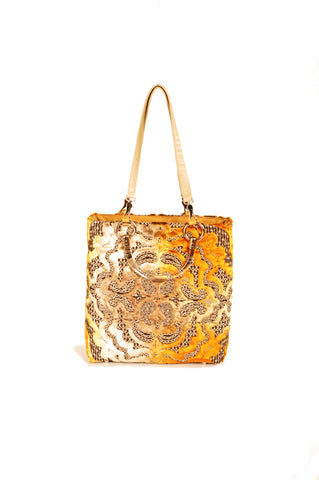 Image of Baroque Gold Small Tote