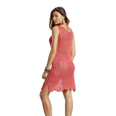 Image of Cover Up Tricot Dress