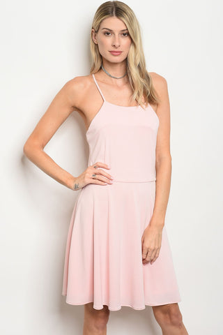Image of Womens Pink Dress
