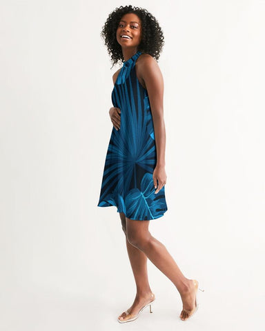 Image of Women's Headed South Casual Halter Dress