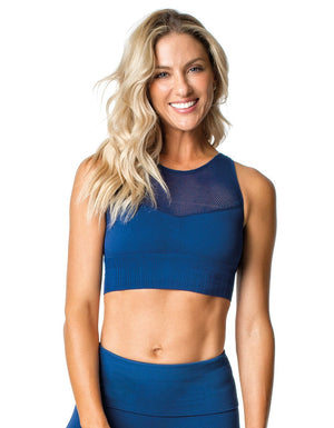 SPORTS BRA 268 SEAMLESS BLUE