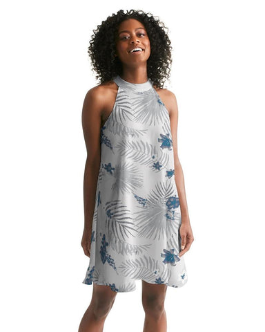 Women's Palm Soul Casual Halter Dress