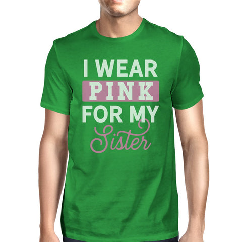 Image of I Wear Pink For My Sister Mens Shirt