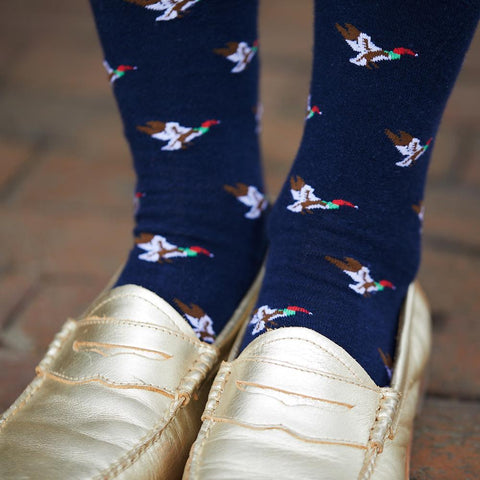 Image of Duck Socks - Men's Mid Calf