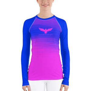 Women's Summer Eclipse Long Sleeve All Weather UPF 50 Rash Guard