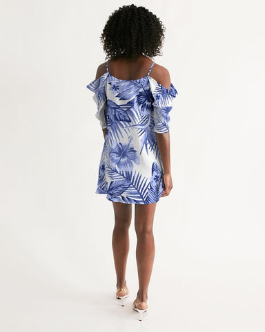 Image of Women's Pacific Supply Open Shoulder A-Line Dress