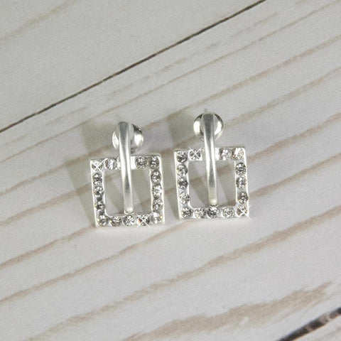 Lucy Earrings-Silver