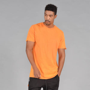 TAB Acid Wash Short Sleeve T- Shirt (Hi-VizOrange)