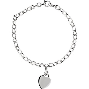 Rolo Bracelet with Charm