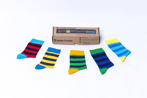 Trendy Stripes Socks
