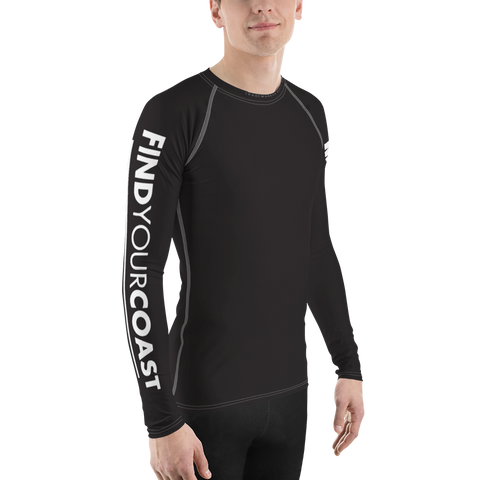 Men's Find Your Coast Performance Rash Guard UPF 40+