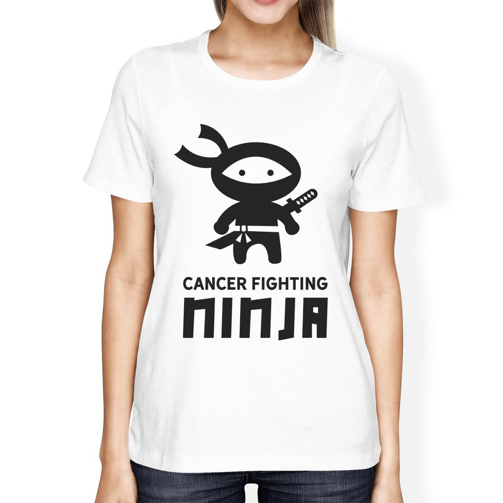 Cancer Fighting Ninja Womens Shirt
