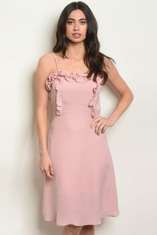 Womens Mauve Dress