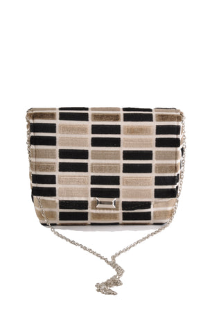 Image of Block Black square clutch