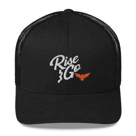 Find Your Coast Rise and Go Vintage Trucker Hat