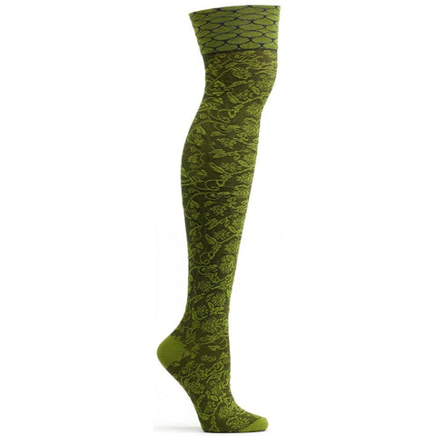 Image of Elizabethan Lace Over the Knee Sock
