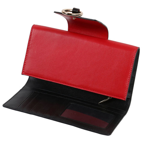 PX (PiXiu) Red Continental Wallet
