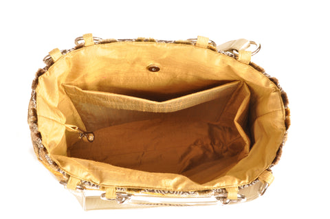 Image of Baroque Gold  Large Tote