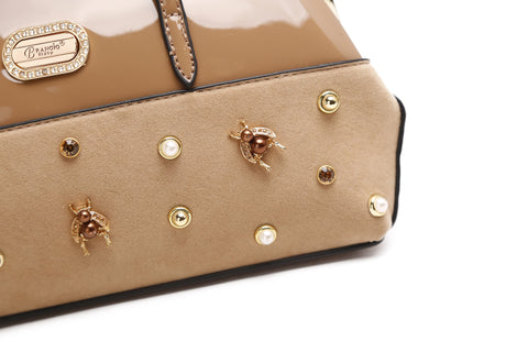 Honey Bee Evening Bag