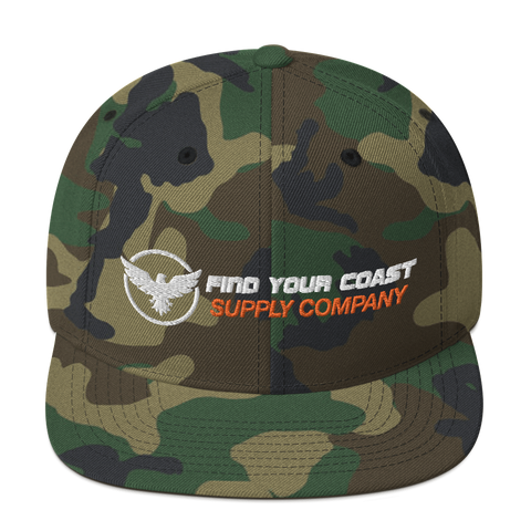 Find Your Coast Supply Company Snapback Hat