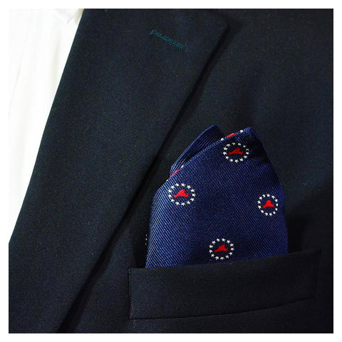 Image of Martha's Vineyard 4th of July Pocket Square